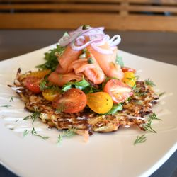 Photo Of Second Story Restaurant Manhattan Beach Ca United States Smoked Salmon