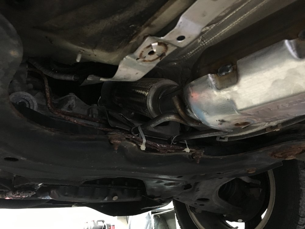 I Paid 600 For My Exhaust Pipe To Be Tied Up With Plastic Cable