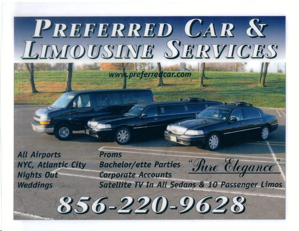 Preferred Car & Limousine: 504 Rte 130 N, Cinnaminson, NJ