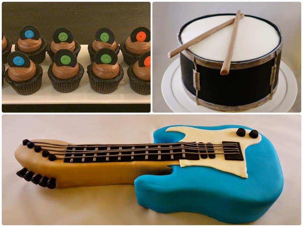 Electric Guitar Cupcake Cake Worksheet And Wiring Diagram