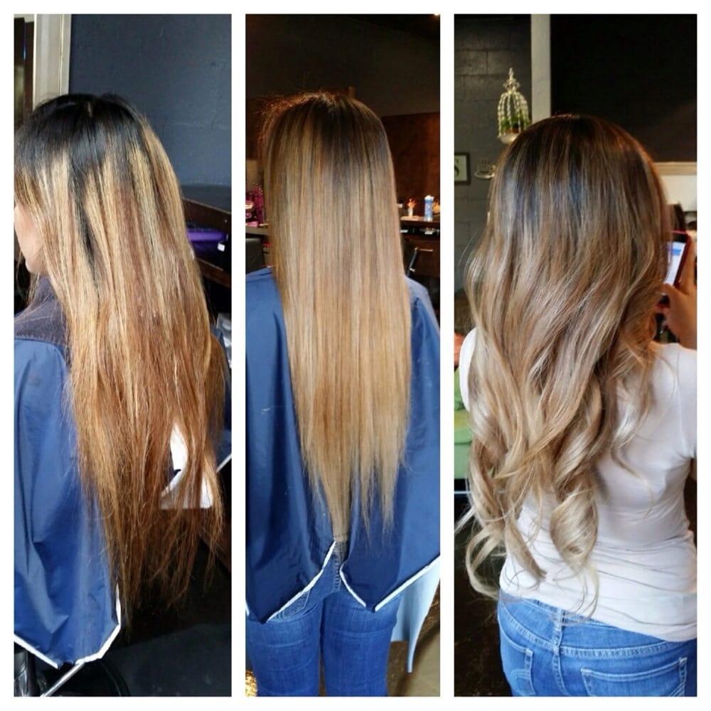 Lien transformed my hair yelp for Salon vizions