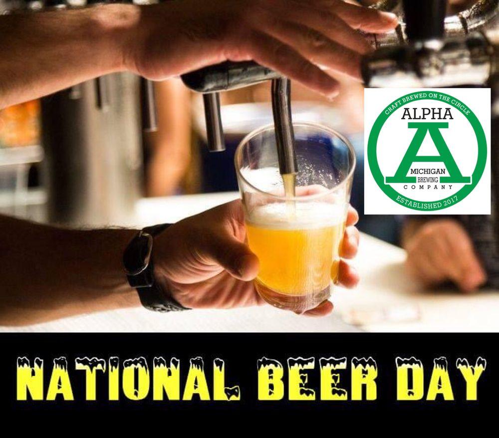 Alpha Michigan Brewing: 303 E Center St, Alpha, MI