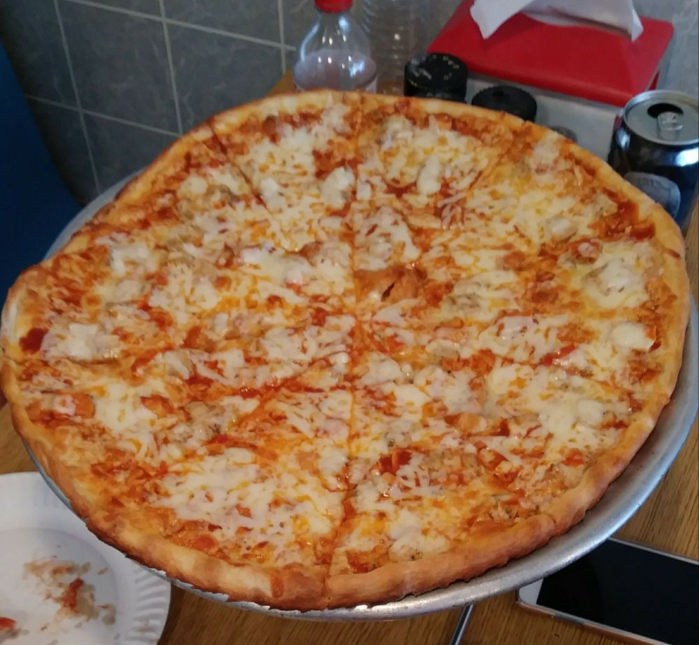 Food from Angelo's Pizza