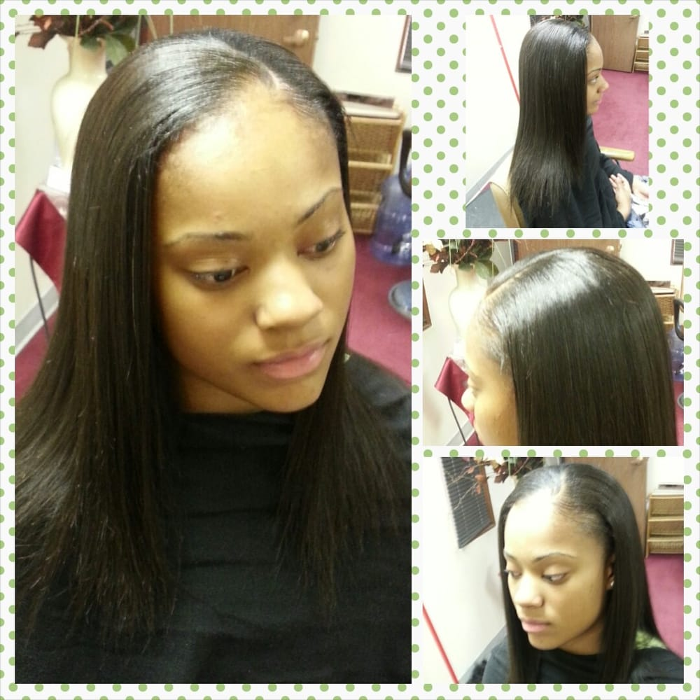 Full Sew In Weave I Tried To Show A Close Up Notice How Flat This