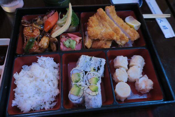 Photo Of Tai Show Fusion Levittown Ny United States Dinner Bento Box