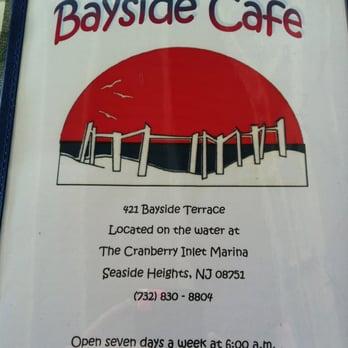 Bayside Cafe Seaside Heights Nj