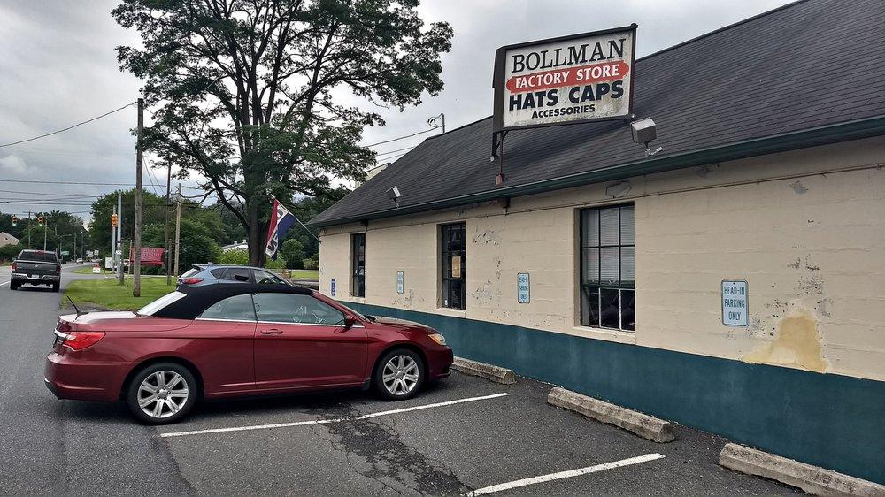 Bollman Hat Company: Willow & Rte 272, Adamstown, PA