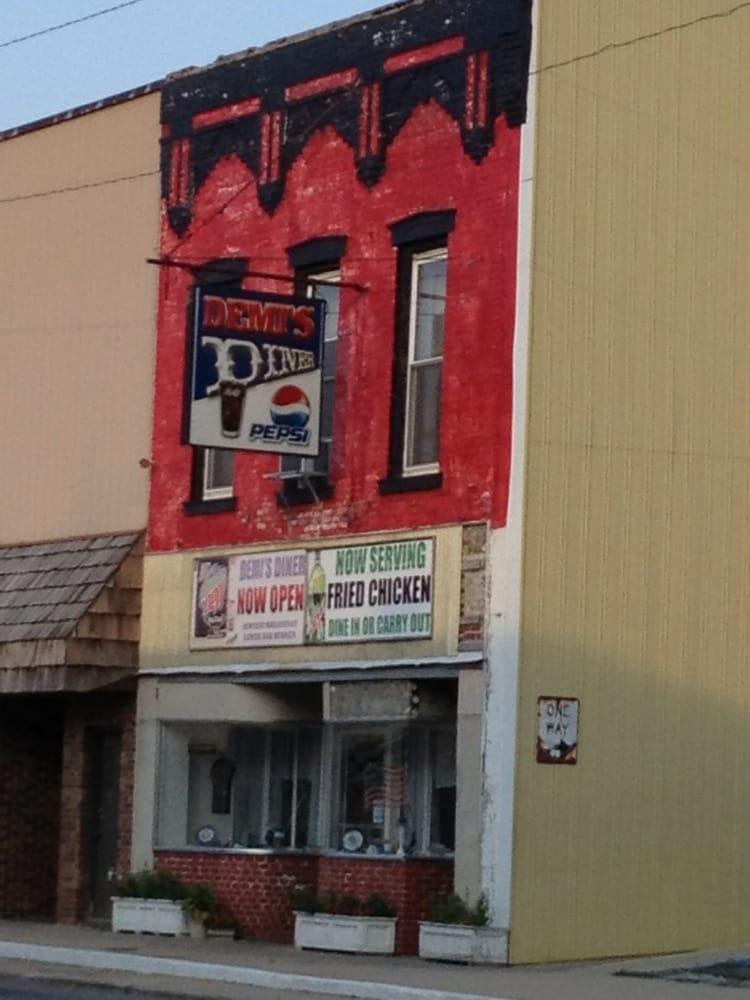 Demi's Diner: 109 W State St, Nokomis, IL