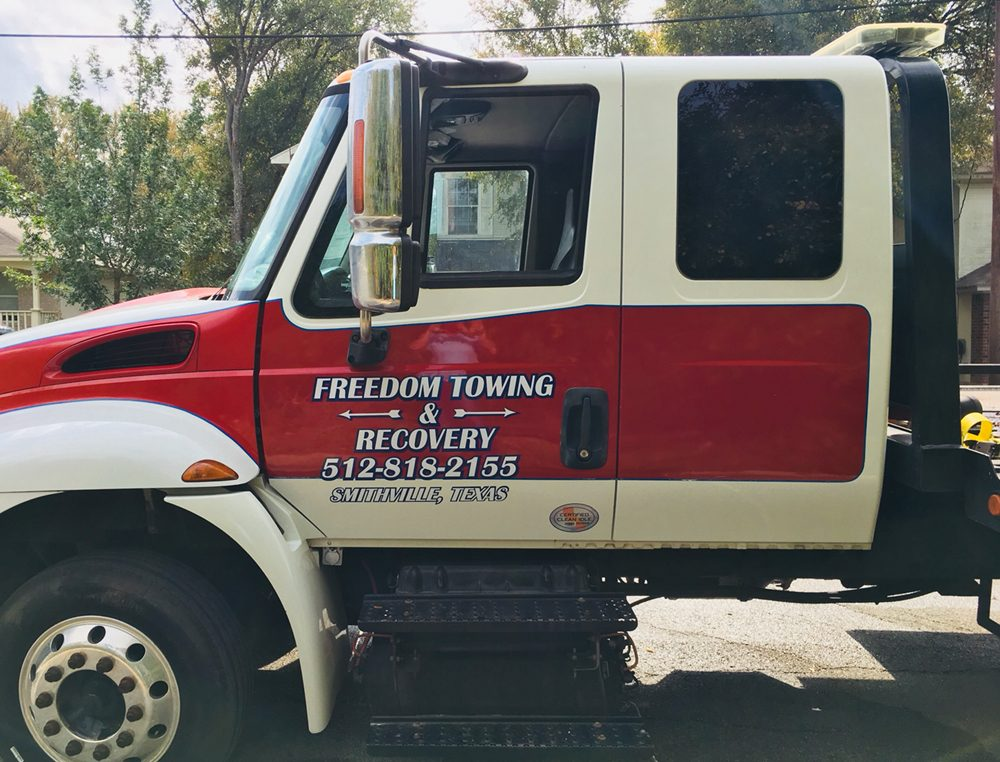 Freedom Towing & Recovery: 106 Harmon Rd, Bastrop, TX
