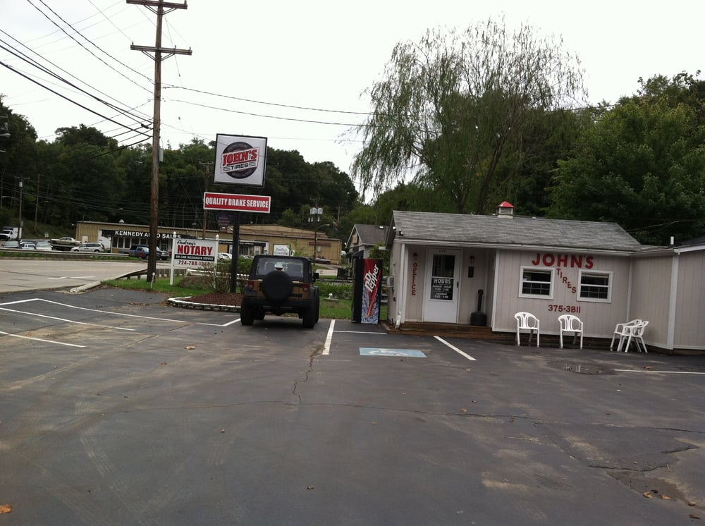 John's Tire & Brake Service: 1390 Kennedy Blvd, Aliquippa, PA