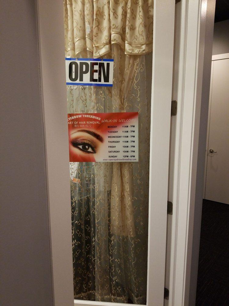 Super Eyebrow Threading: 1140 E Brickyard Rd, Salt Lake City, UT