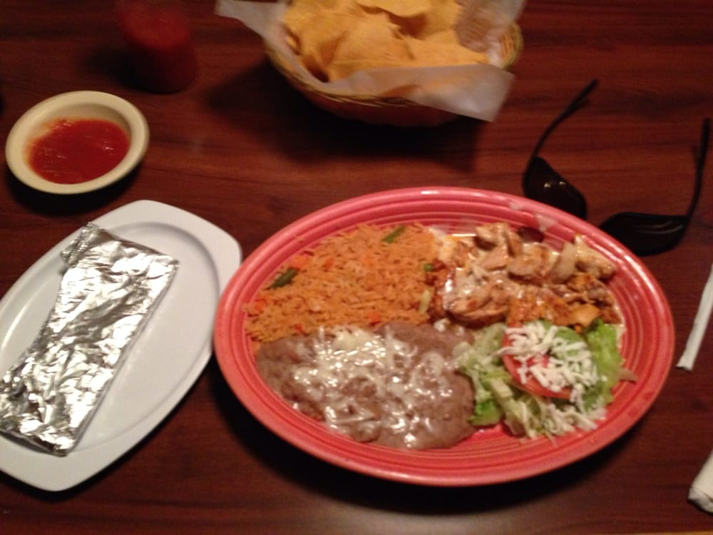 Food from Carlos Mexican Grill