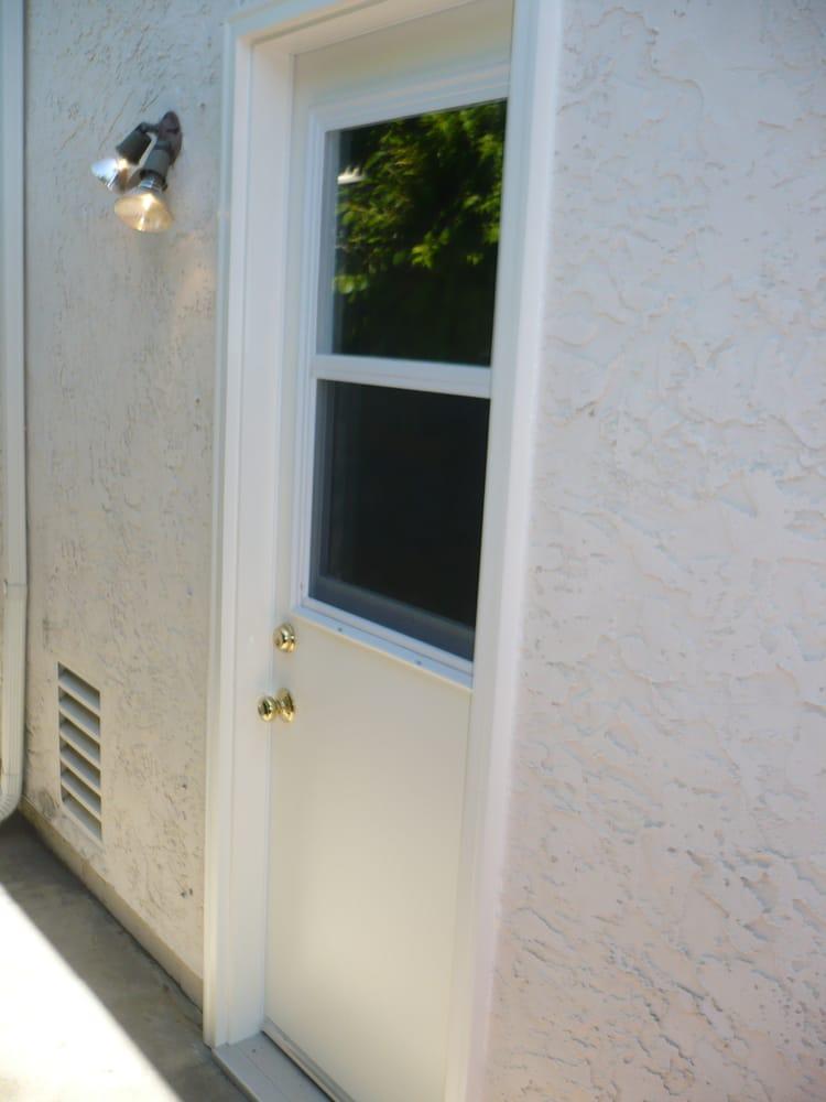 Single Hung Doors : New pre hung garage door with operation single window
