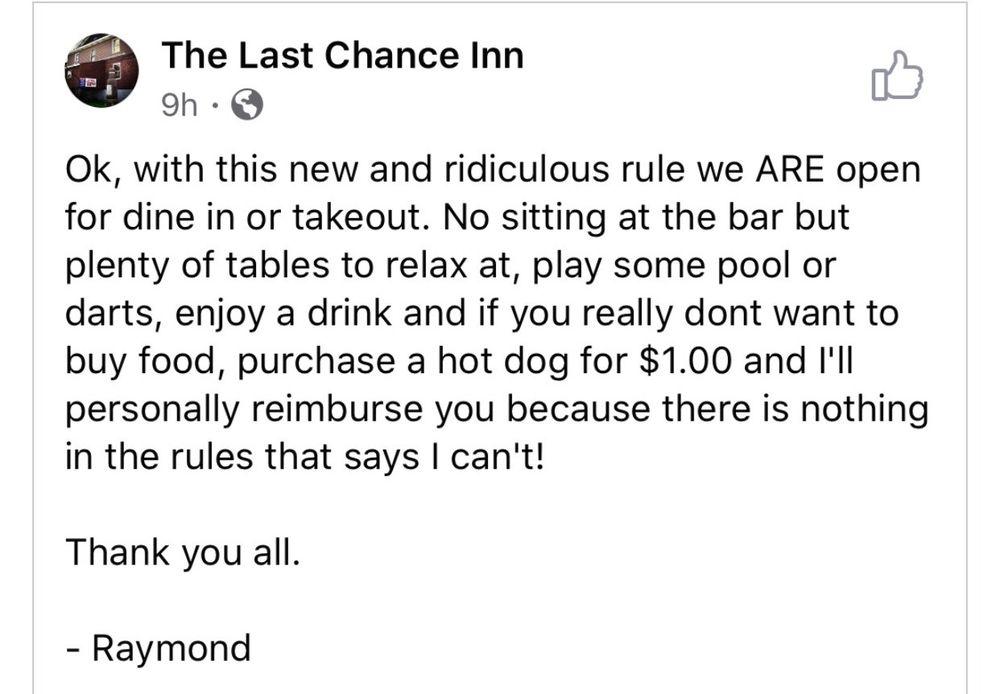 Last Chance Inn: 175 Skyline Dr, Dagus Mines, PA