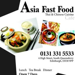 Asia Fast Food South Queensferry