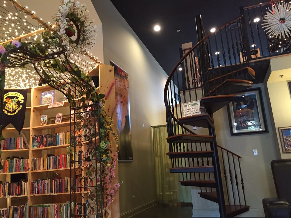Love The Spiral Staircase And The Lights Over The Children S Book