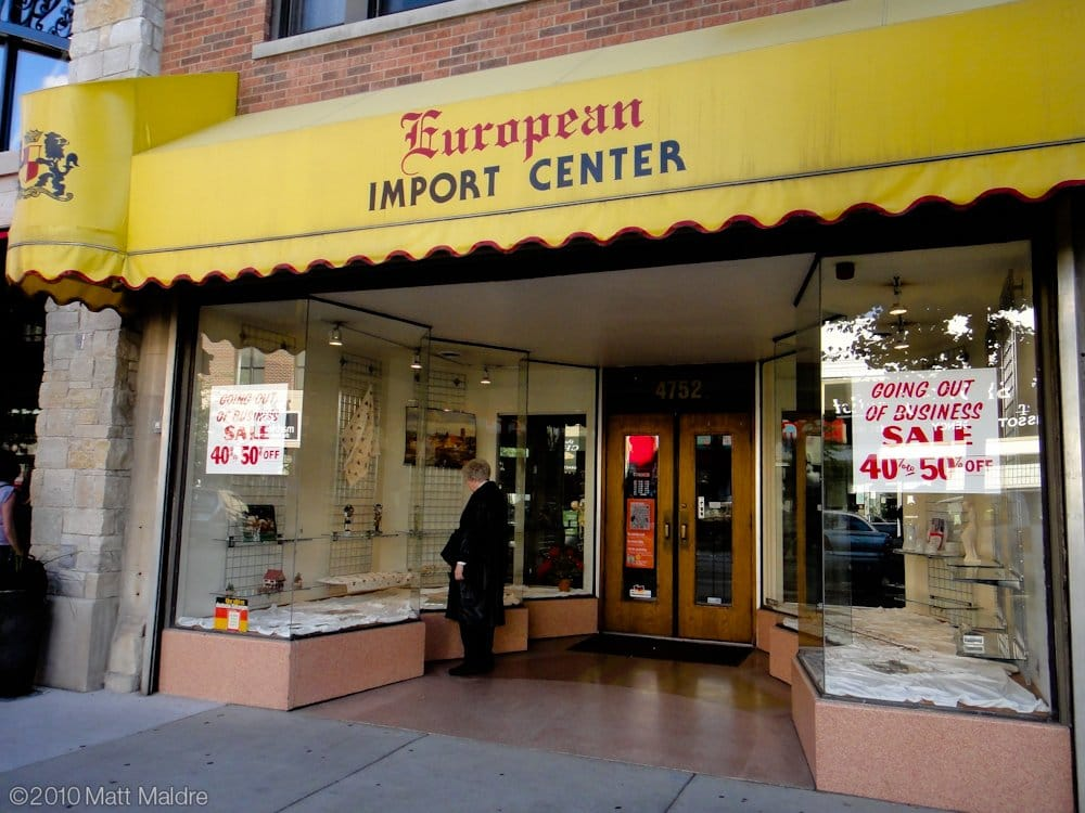 European Import Center: 4752 N Lincoln Ave, Chicago, IL