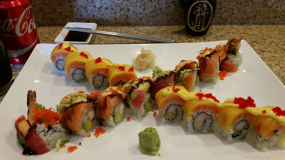 Food from Vic Sushi