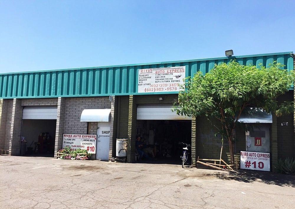 Rivas auto express garages 1 n 35th ave phoenix az for Garage auto express carignan