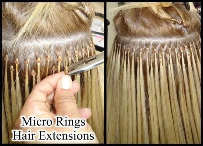 Before And After Micro Beads Hair Extensions Yelp