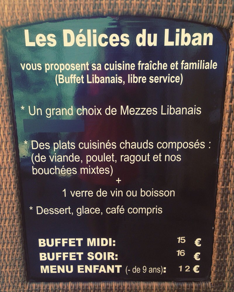 les delices du liban lebanese avenue du gnral leclerc perpignan france restaurant reviews yelp. Black Bedroom Furniture Sets. Home Design Ideas