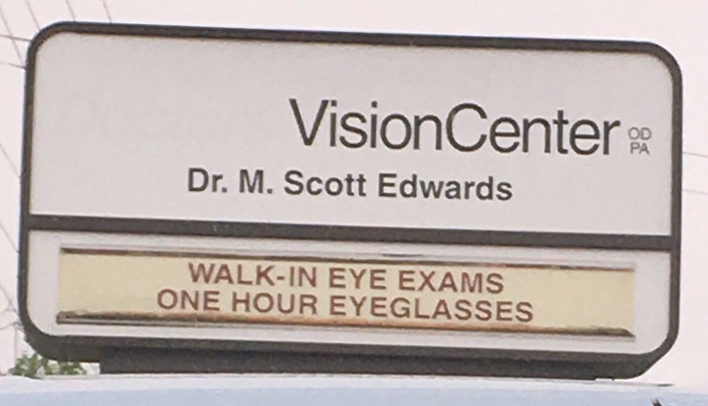 Edwards Eye Care: 1488 E Memorial Dr, AHOSKIE, NC