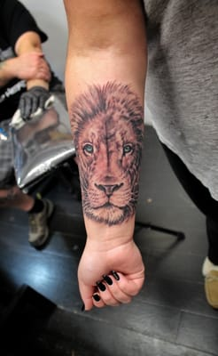 Unicorn tattoo ri