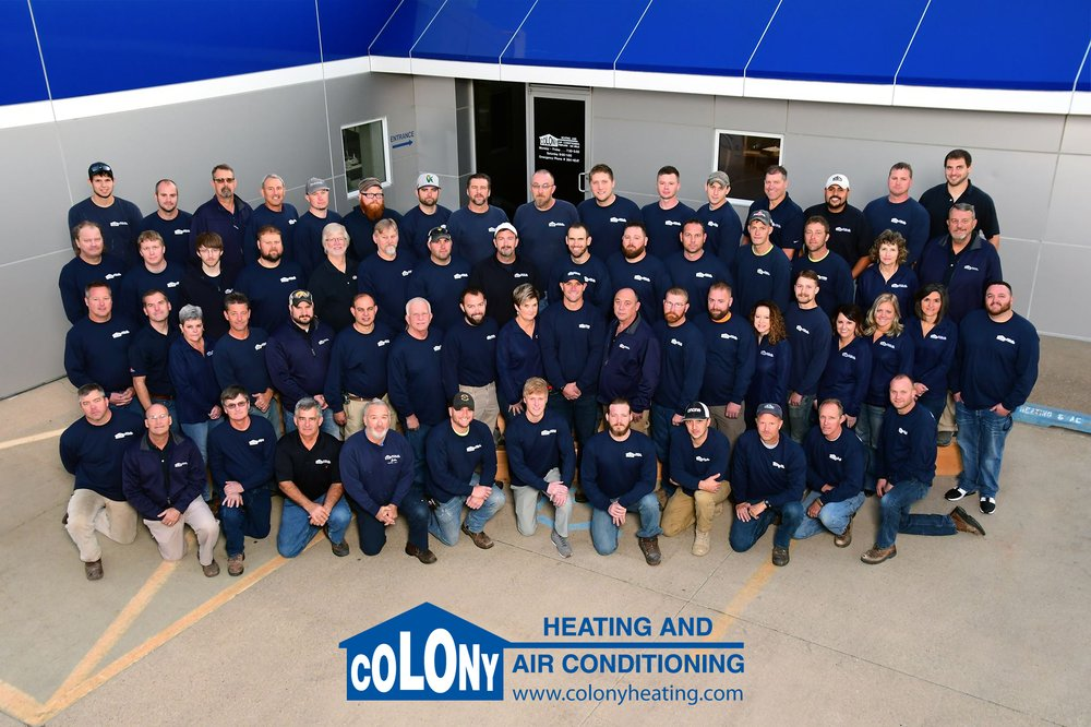 Colony Heating and Air Conditioning: 2224 16th Ave SW, Cedar Rapids, IA