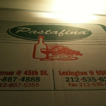 Pastafina Restaurant New York