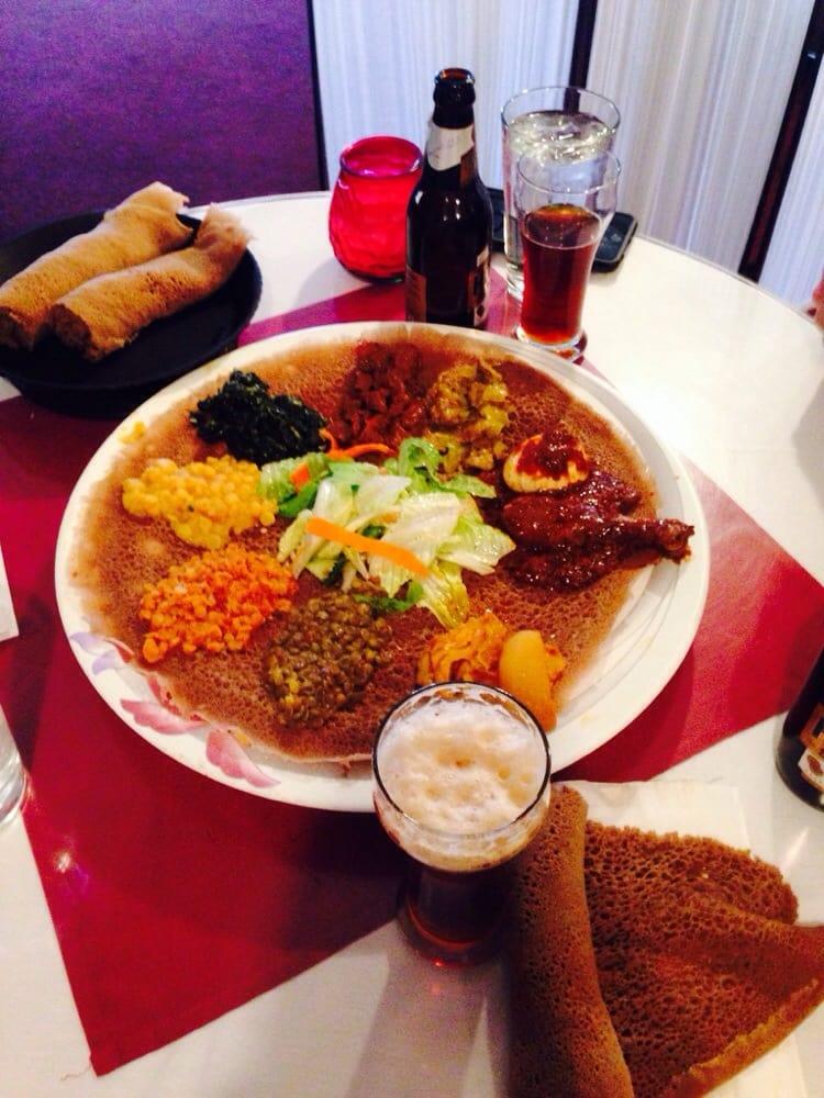 Africana Cafe Denver Menu
