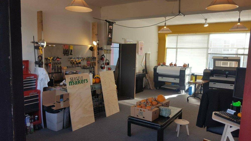Seattle Makers: 500 Aurora Ave N, Seattle, WA