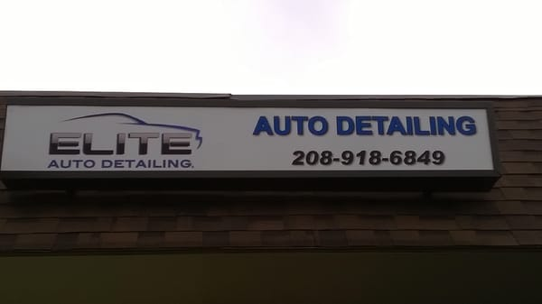 Elite Auto Detailing >> Elite Auto Detailing 1026 W Finch Dr Nampa Id Automobile Detail