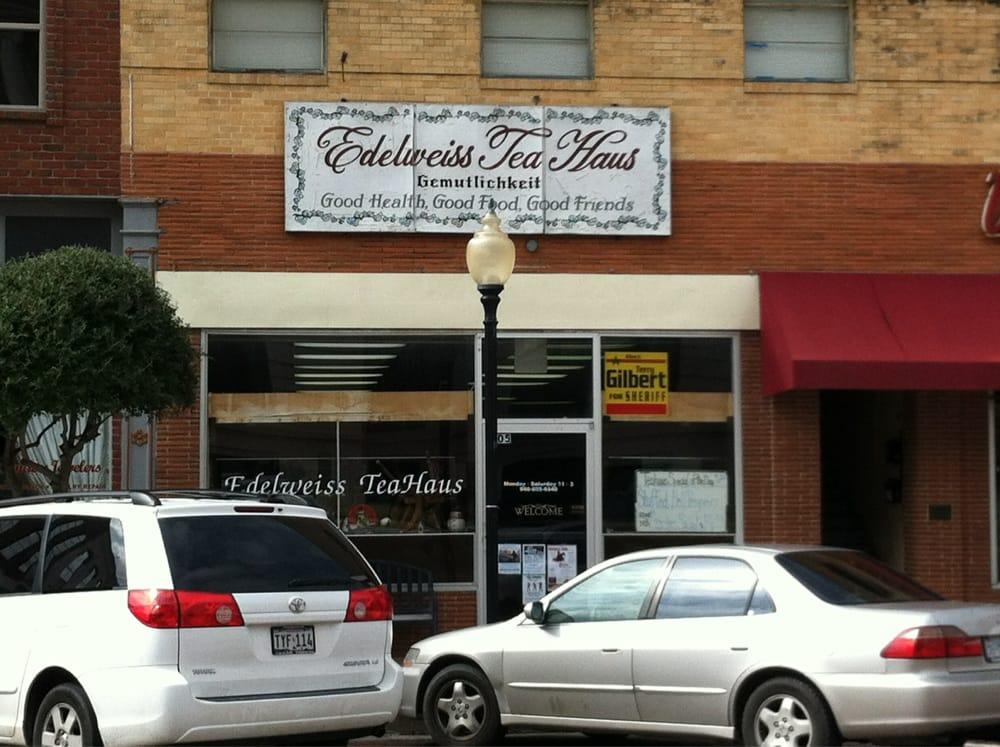 Edelweiss Tea Haus: 105 S Commerce St, Gainesville, TX