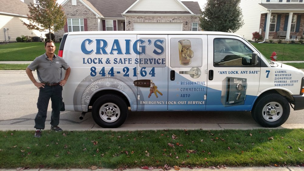 Craig's Lock & Safe Service: Carmel, IN