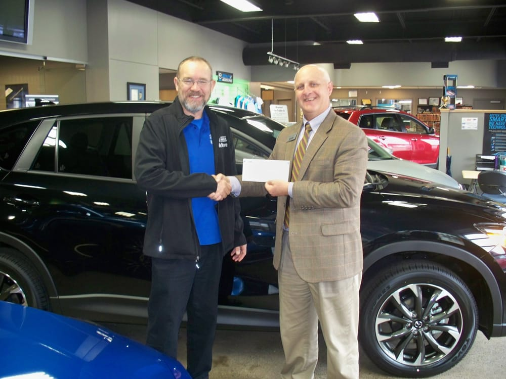 Mazda donates to habitat for the second year yelp for Eich motors st cloud minnesota