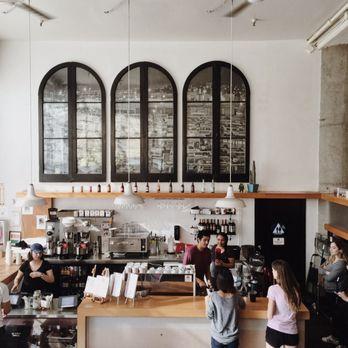 coffee bar. Photo Of Coffee Bar - San Francisco, CA, United States. Beautiful White And