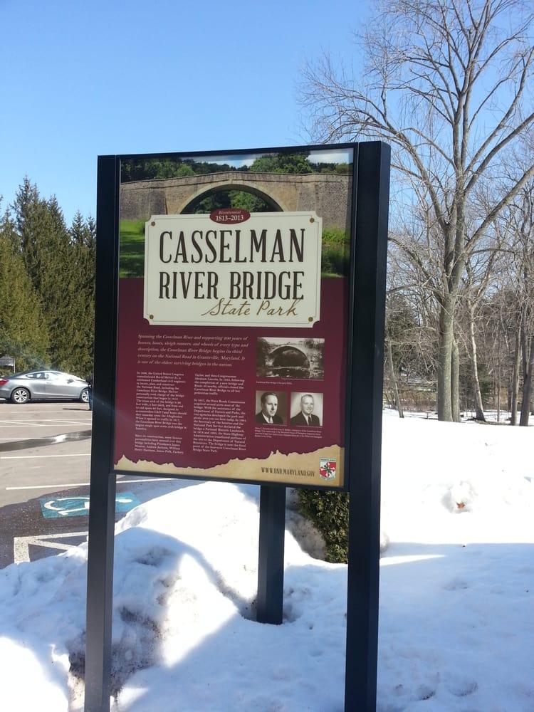 Casselman River Bridge State Park: 10240 National Pike, Grantsville, MD