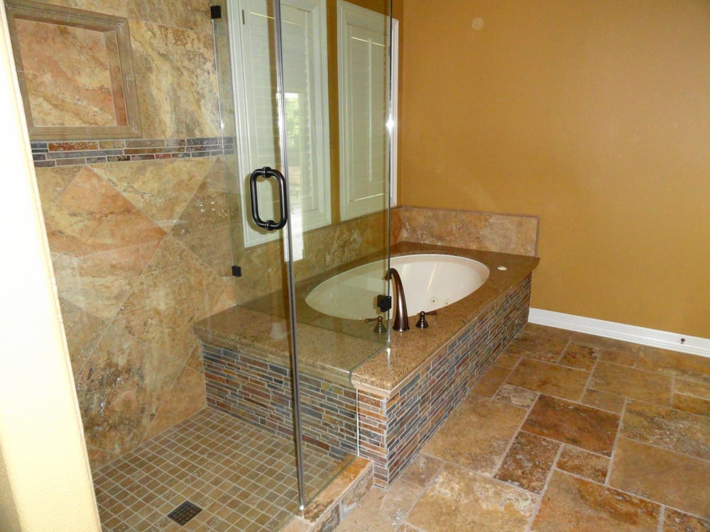 Photo Of Quality Renovations   Austin, TX, United States. Carnival  Travertine Tile With