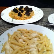 Photo Of Botticelli Italian Restaurant Dublin Republic Ireland Risotto Pesci Penne