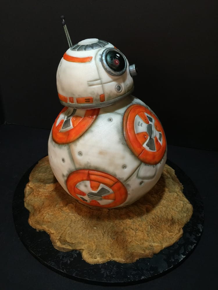 Sublime Cake Design Redding Ca : BB-8 Cake - Yelp