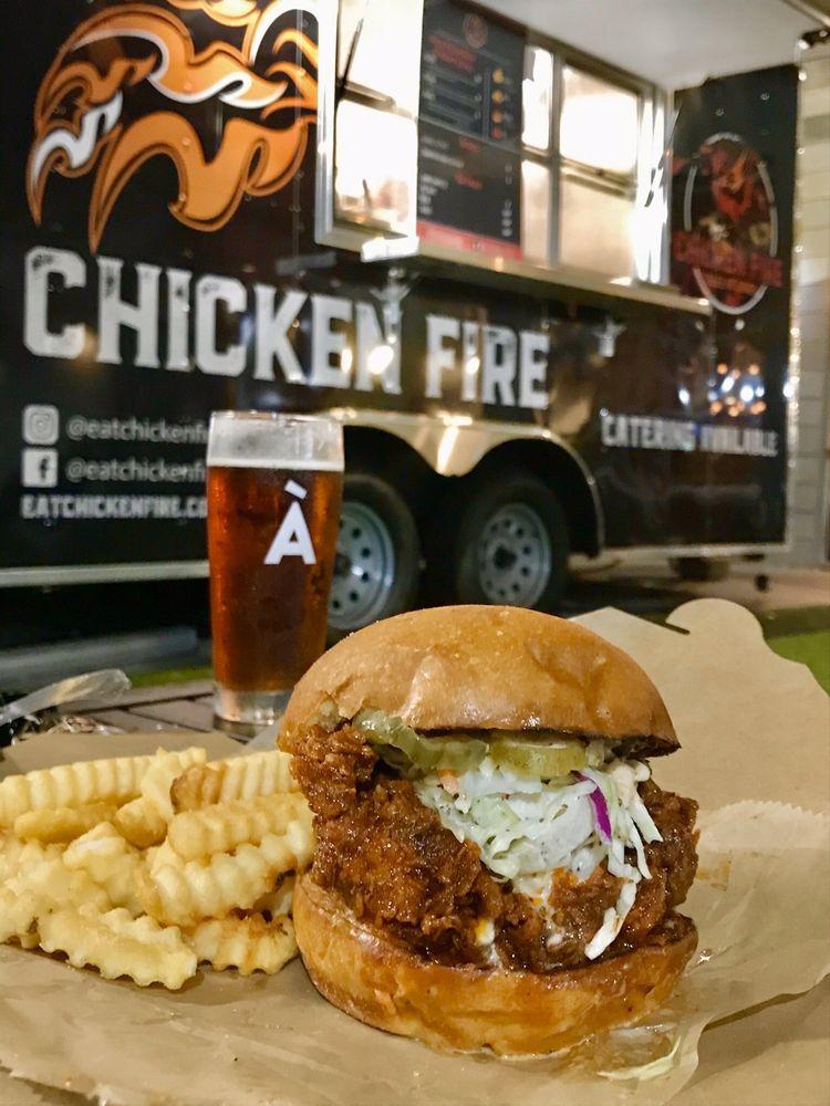 Chicken Fire: 609 Irvington Ave, Orlando, FL