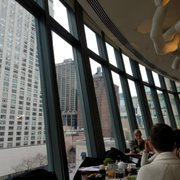 Ginger cooler, real Photo of NoMI Kitchen - Chicago, IL, United States. Dining with a view