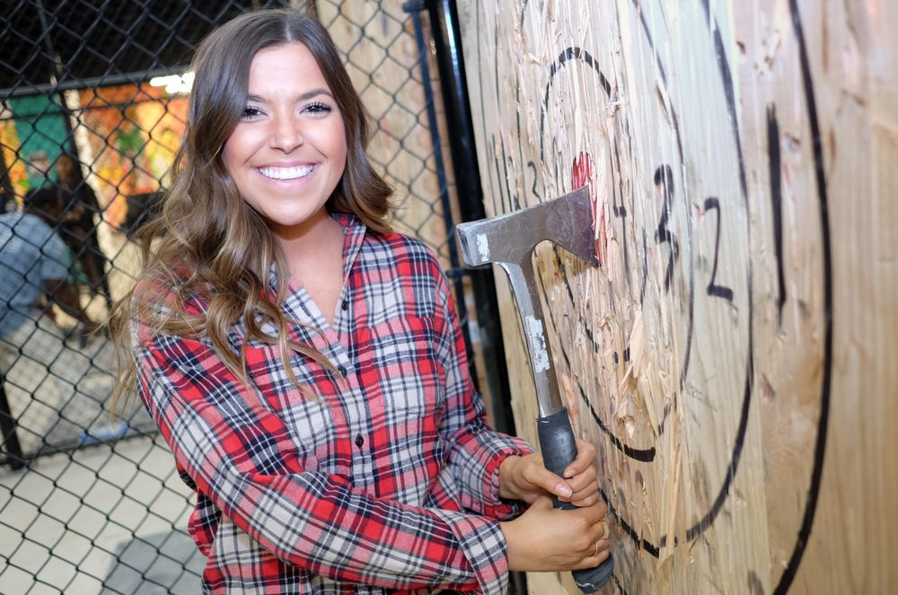 Bad Axe Throwing: 2828 N Clark St Atrium Level, Chicago, IL