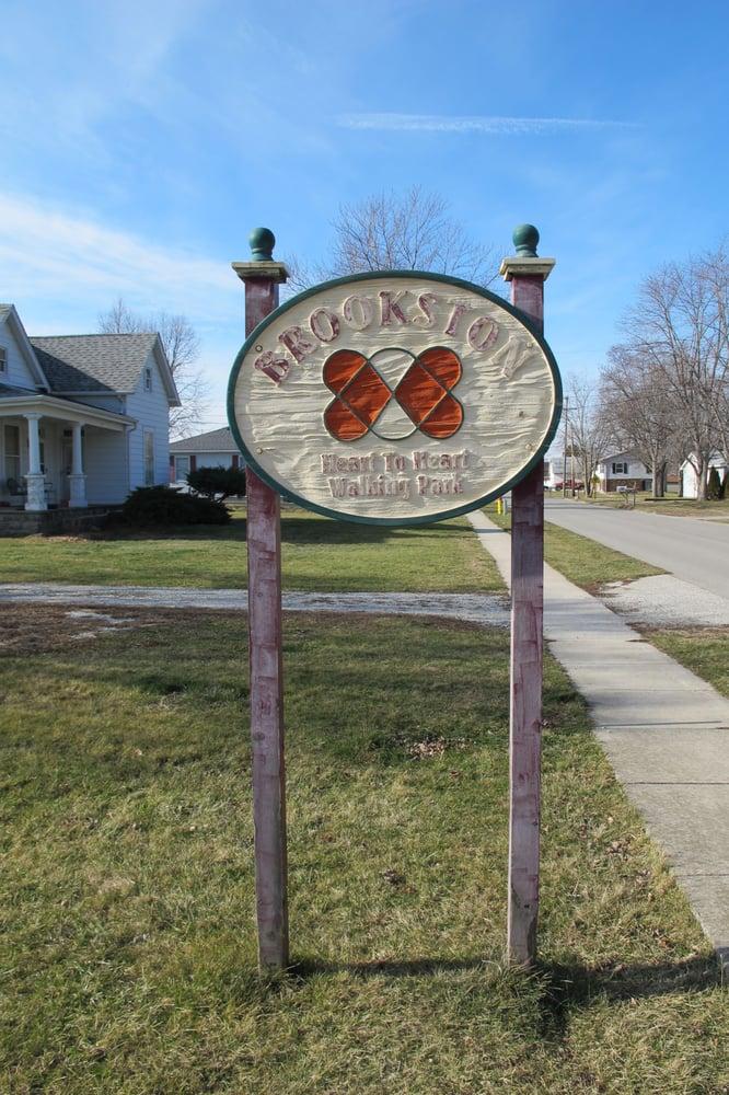 Brookston Heart To Heart Walking Park: 311 W 8th St, Brookston, IN