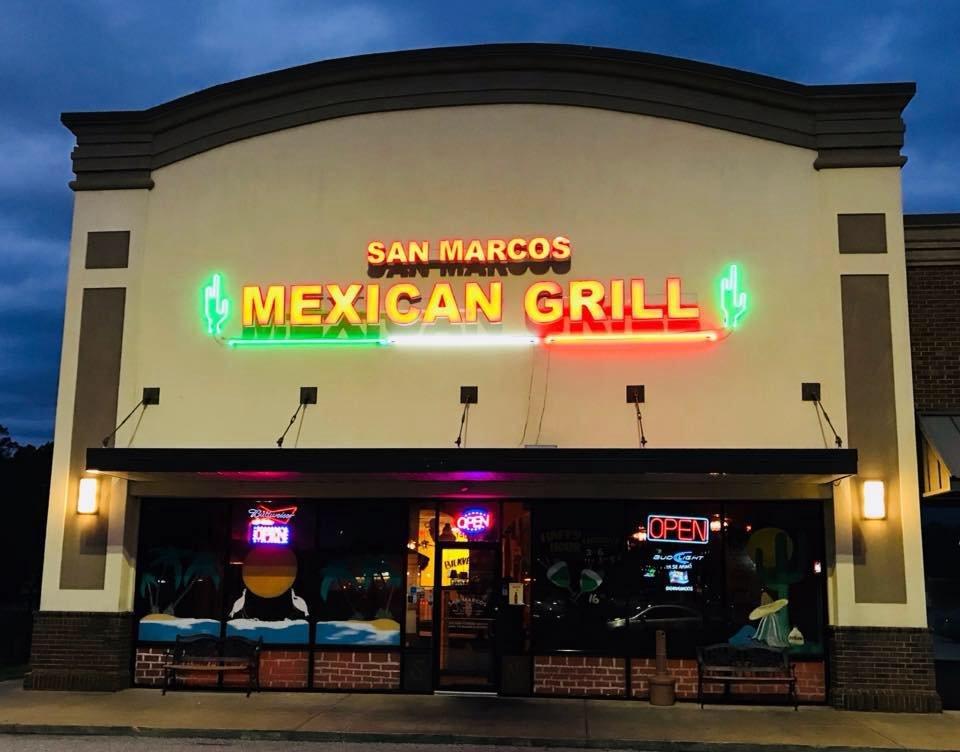 San Marcos Mexican Grill: 1408 Tallahassee Rd, Bainbridge, GA