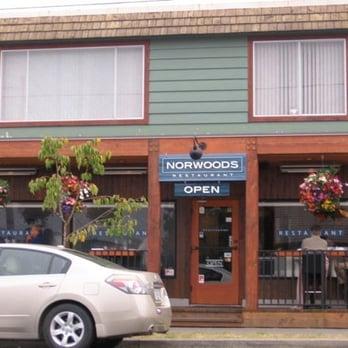 Norwoods Restaurant Ucluelet Bc