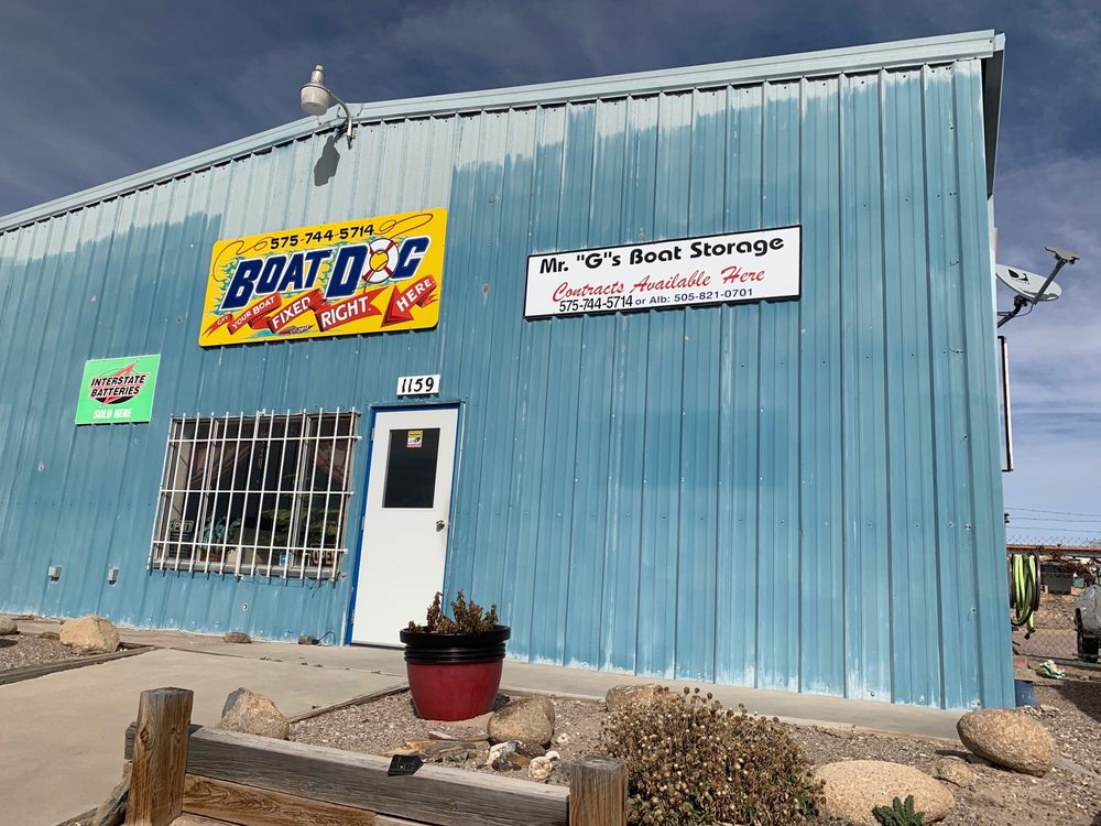 Mr.G's Boat Storage: 1159 Hwy 195, Elephant Butte, NM
