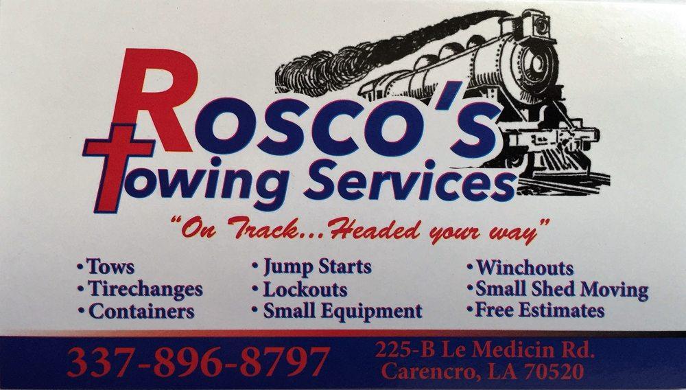 Roscos Towing Services: 225 B Le Medicin Rd, Carencro, LA