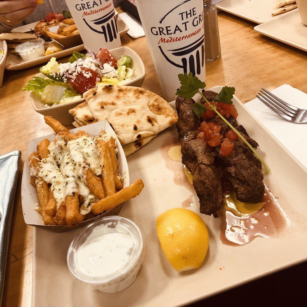 Food from The Great Greek