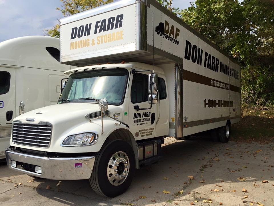 Don Farr Moving & Storage: 4920 Buttermilk Hollow Rd, Pittsburgh, PA